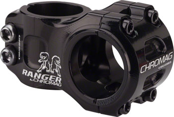 Chromag Ranger V2 Stem - 31mm, 31.8mm, 0 Degree, Alloy, Black