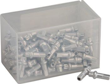 Box of 100 2.0 x 12mm Blue DT Swiss Standard Aluminum Nipples