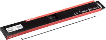 2.0mm Bladed 278mm J-bend Black Each DT Swiss Aero Comp Spoke