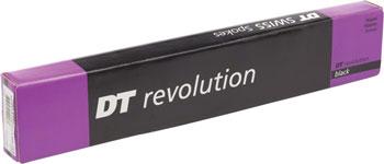 Box of 100 Black J-bend 285mm DT Swiss Competition Spoke: 2.0//1.8//2.0mm