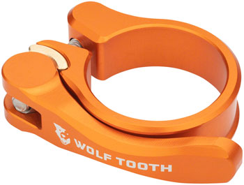 Wolf Tooth Components Quick Release Seatpost Clamp - 31.8mm, Orange
