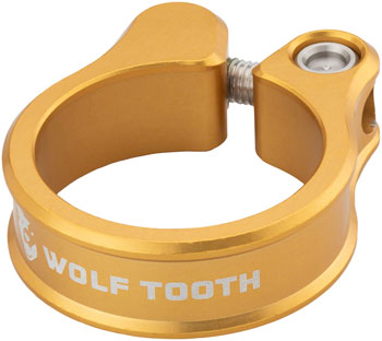 Wolf Tooth Seatpost Clamp 29.8mm Gold