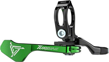 RaceFace Turbine Dropper Seatpost 1x Remote: Green
