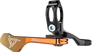 Race Face Turbine Dropper Seatpost 1x Remote: Orange