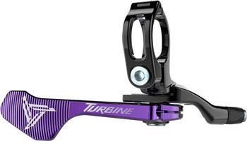 Race Face Turbine Dropper Seatpost 1x Remote: Purple