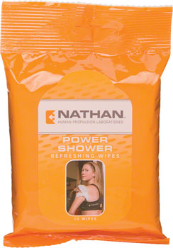 Nathan Power Shower Wipes: 15-Pack