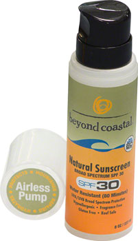 Beyond Coastal Natural Airless Pump Suncreen SPF 30: 8oz
