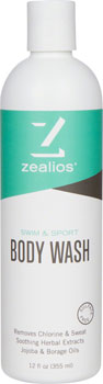 Zealios Swim and Sport Body Wash: 12oz