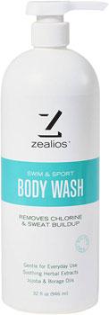 Zealios Swim and Sport Body Wash: 32oz with pump