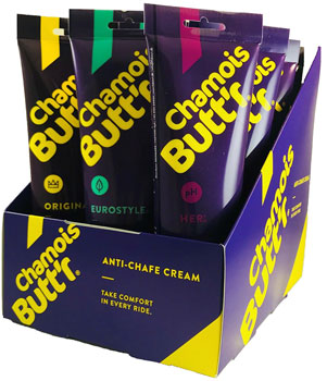 Chamois Butt'r 8oz Variety Pack: 6 Original, 3 Her' and 3 Eurostyle