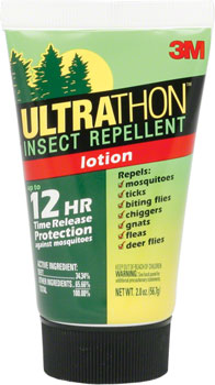 3M Ultrathon First Aid Insect Repellent: Lotion: 2oz