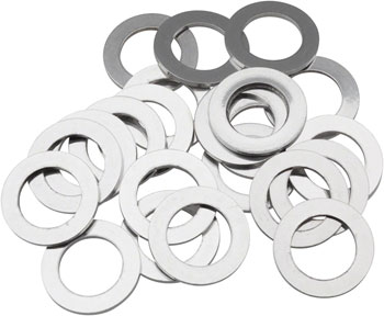 Wheels Manufacturing 1mm rear Axle Spacers, Bag of 20
