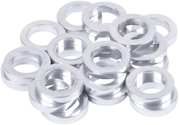Wheels Manufacturing 3mm rear Axle Spacers, Bag of 20