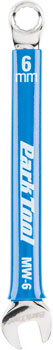 Park Tool MW-6 Metric Wrench, 6mm, Blue/Chrome