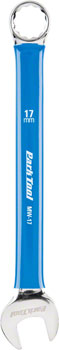 Park Tool MW-17 Metric Wrench, 17mm, Blue/Chrome