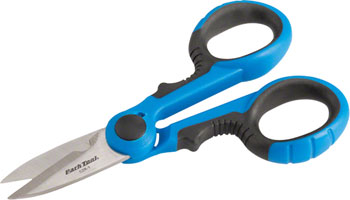 Park Tool SZR-1 Shop Scissors with Stainless Blades and Dual Density Grips