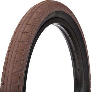 BSD Donnasqueak Tire - 20 x 2.4, Clincher, Steel, Chocolate