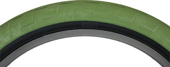 BSD Donnastreet Tire - 20 x 2.3, Clincher, Steel, Surplus Green