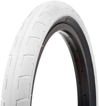 BSD Donnastreet Tire - 20 x 2.4, Clincher, Steel, White