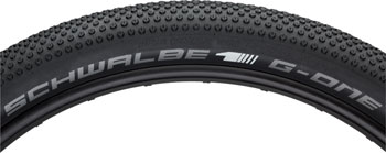 Schwalbe G-One All Around Tire 27.5 x 2.80, Folding Bead, Evolution Line, OneStar Compound, SnakeSkin, Tubeless Easy, Black