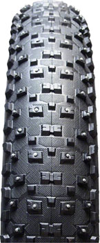 Vee Tire Co. Snowshoe XL Tire - 26 x 4.8, Clincher, Folding, Black, 120tpi, Studded, Silica Compound