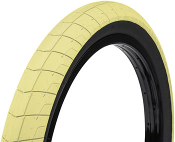Eclat Fireball Tire - 20 x 2.3, Clincher, Wire, Pastel Yellow /Black, 60tpi