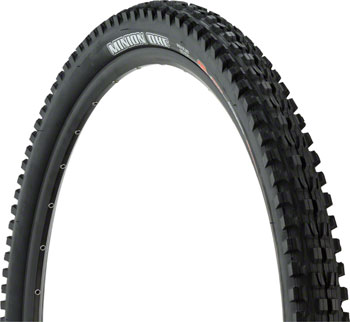 Maxxis Minion DHF Tire 29 x 3.00, Folding, 60tpi, Dual Compound, EXO, Tubeless Ready, Black