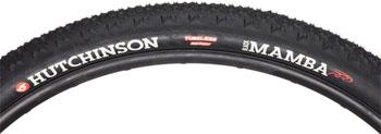 Hutchinson Black Mamba 700c x 34mm Tubeless Tire Protect'Air Ma x  Black Tread and Sides