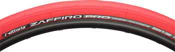 Vittoria Zaffiro Pro Home Trainer Tire: Folding Clincher, 29x1.35, Red