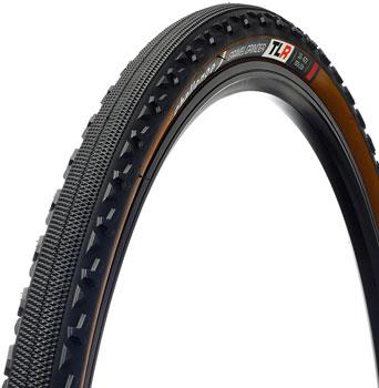 Challenge Gravel Grinder Tire - 700 x 33, Tubeless, Folding,Black/Brown, 120tpi, Vulcanized