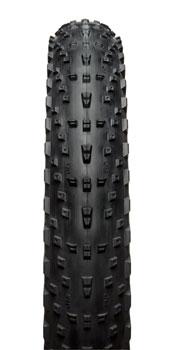 45NRTH Husker Du Tire - 26 x 4, Tubeless, Folding, Black, 120tpi