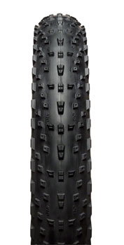 45NRTH Husker Du Tire - 26 x 4.0, Tubeless, Folding, Black, 60tpi