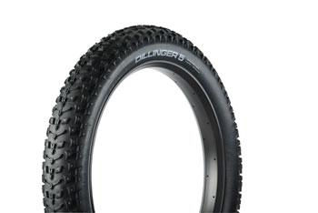 45NRTH Dillinger 5 Tire - 26 x 4.8, Clincher, Folding, Black, 120tpi, Studdable