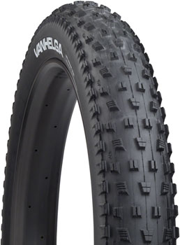 "45NRTH VanHelga Fat Bike Tire: 27.5 x 4.0"" Tubeless Ready Folding, 120tpi, Black"
