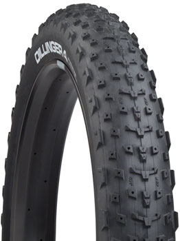 "45NRTH Dillinger 4 Custom Studdable Fat Bike Tire: 26 x 4.0"", Tubeless Ready Folding, 120tpi, Black"
