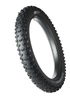 45NRTH Dunderbeist Tire - 26 x 4.6, Tubeless, Folding, Black, 120tpi
