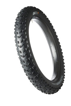 45NRTH Flowbeist Tire - 26 x 4.6, Tubeless, Folding, Black, 120tpi