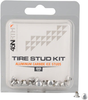45NRTH Aluminum Carbide Concave Replacement Studs Pack of 25