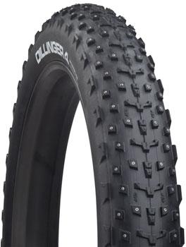 45NRTH Dillinger 4 Tire - 27.5 x 4.0, Tubeless, Folding, Black, 60tpi, 252 Carbide Steel Studs