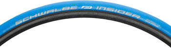 Schwalbe Insider Trainer Tire, 700x23 Folding Bead Blue