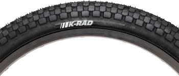 Kenda K-Rad Tire - 20 x 2.125, Clincher, Steel, Black, 60tpi