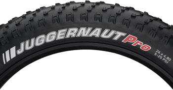 Kenda Juggernaut Tire - 26 x 4.8, Clincher, Folding, Black