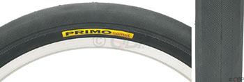 Primo Comet Recumbent Tire - 20 x 1 1/8, Clincher, Steel, Black
