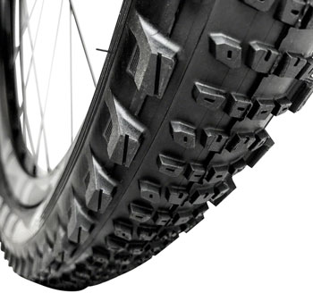 e*thirteen by The Hive LG1 EN Race Tire - 27.5 x 2.35, Tubeless, Folding, Black, Semi-Slick