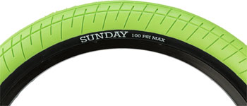 18 x 2.2 Black Clincher Sunday Current Tire Wire