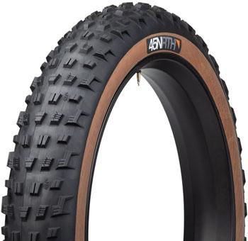 45NRTH Vanhelga Tire - 26 x 4.2, Tubeless, Folding, Black/Tan, 60tpi