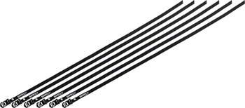 Surly Junk Strap 120cm Rack Strap: Black with Stainless Buckle~ 6-Pack
