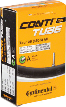 Continental 26 x 1.4-1.75 40mm Schrader Valve Tube