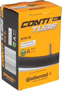 Continental 26 x 1.75-2.5 40mm Schrader Valve Tube