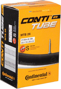 Continental 26 x 1.75-2.5 42mm Presta Valve Tube